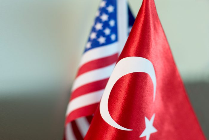 Turkey, US, Flags