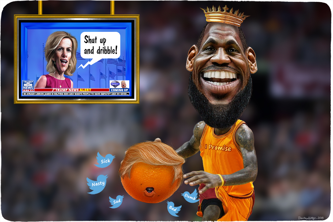 LeBron James, Laura Ingraham