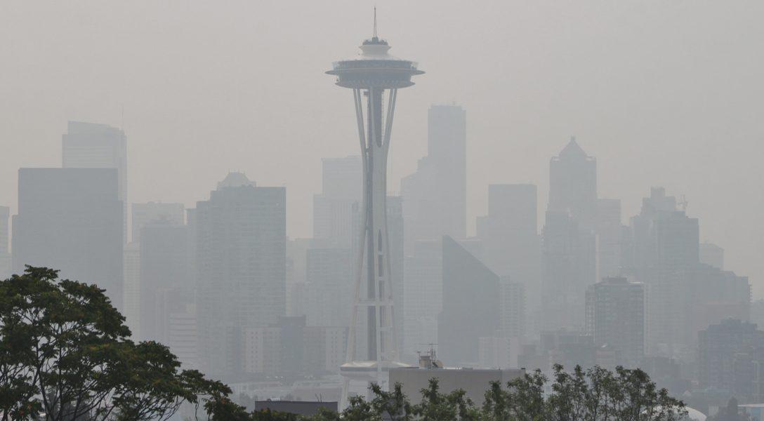 Seattle, wildfire, smoke