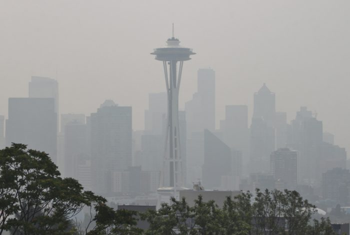 Seattle, wildfire, smoke