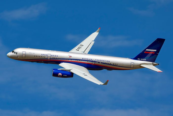Russian, Air Force, Tu-214ON