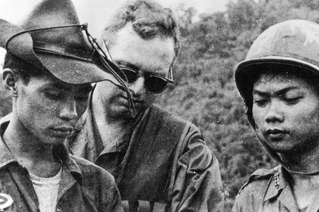 Vietnam, American advisor, ARVN, soldiers