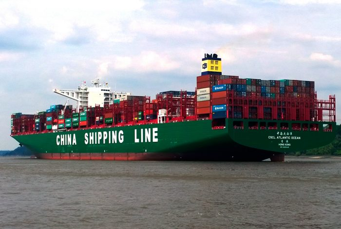 China Shipping Line, trade, China