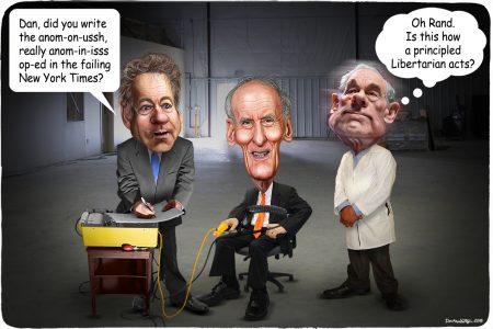 Rand Paul, Dan Coats, Ron Paul