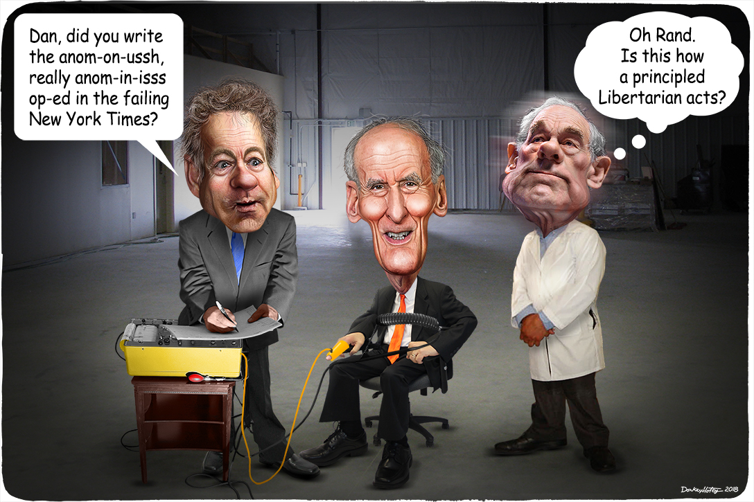 Rand Paul, Dan Coats, Ron Paul