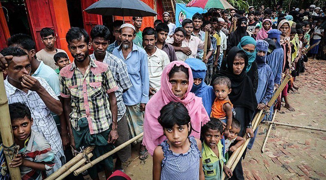 displaced, Rohingya muslims