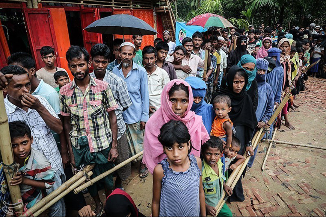 displaced, Rohingya muslims