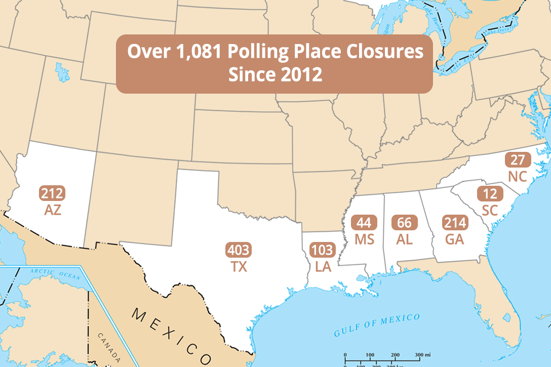 polling place closures