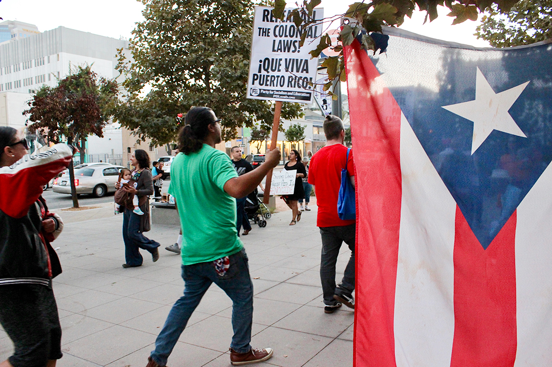 rally, Puerto Rico