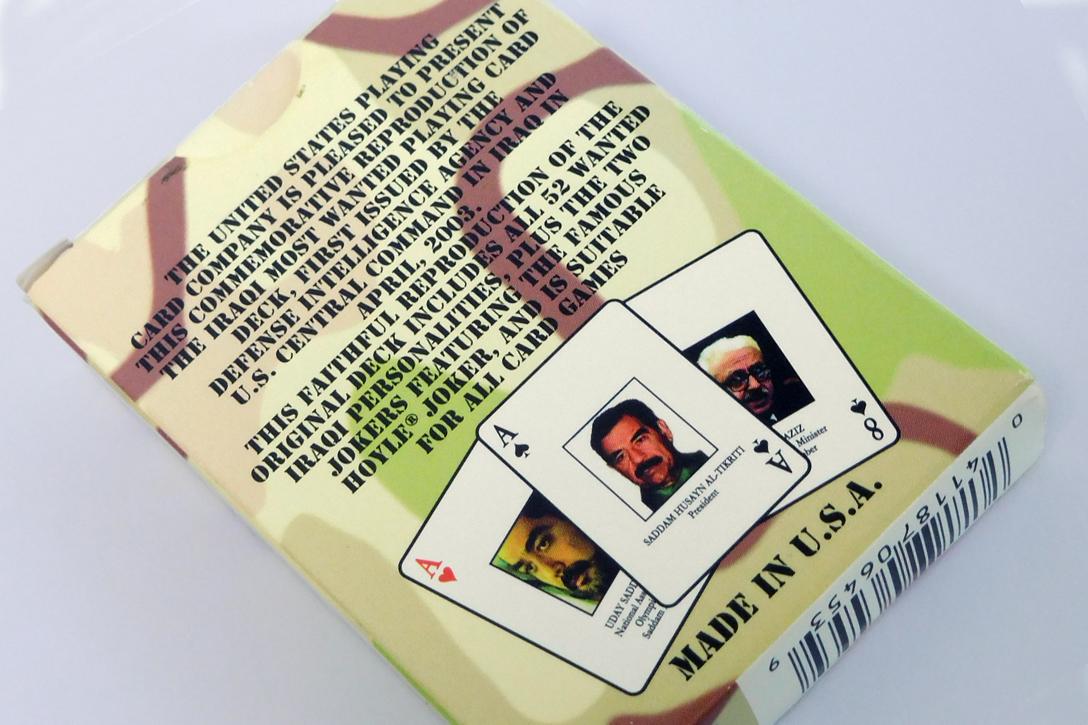 Iraqi playing cards