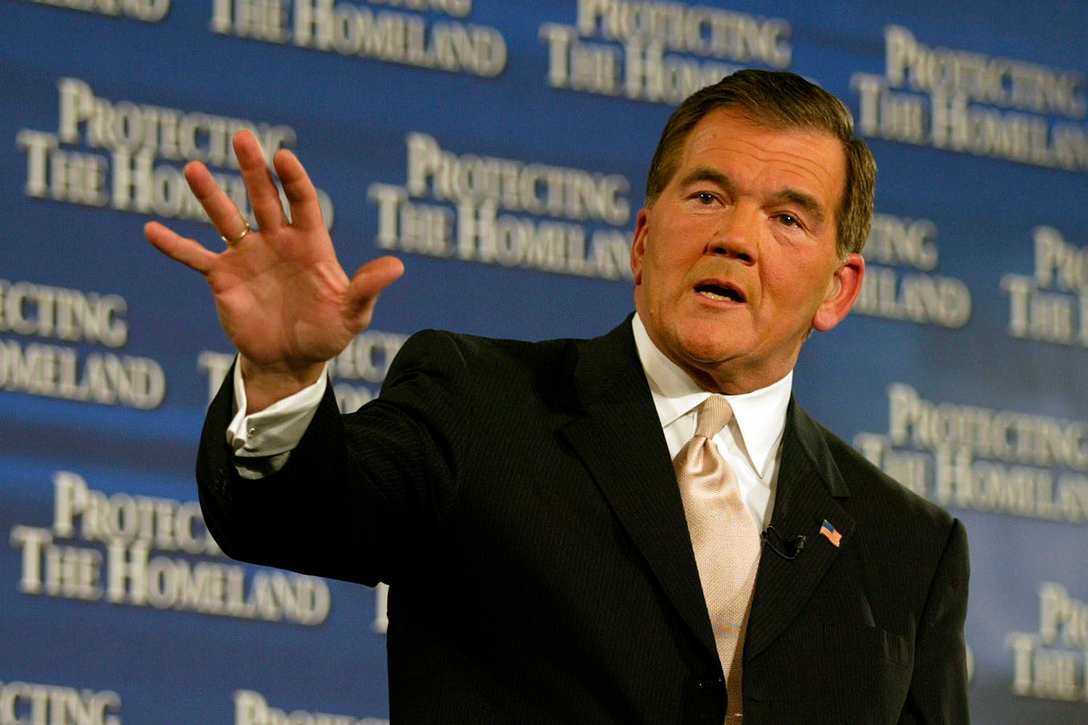 Homeland Security Secretary, Tom Ridge
