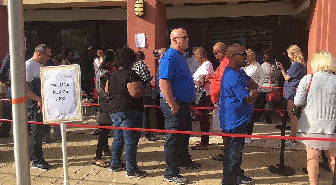 early voting, Georgia