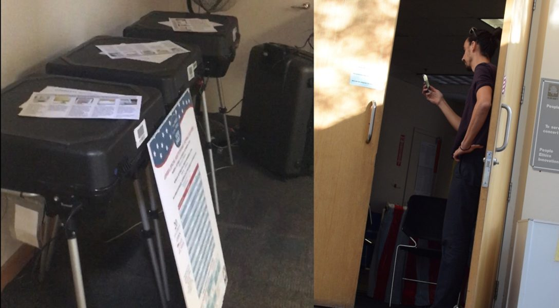 voting machines, Georgia