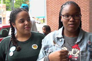 Georgia, Spelman College, voting