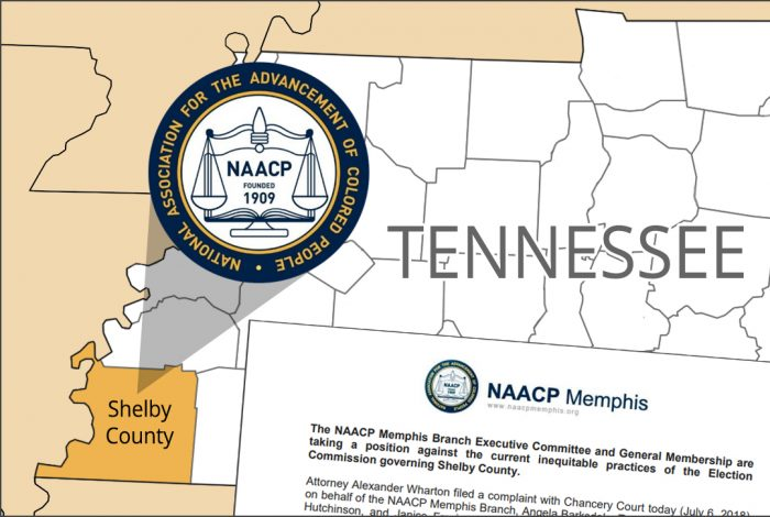 NAACP, Shelby County, Tennessee, lawsuit