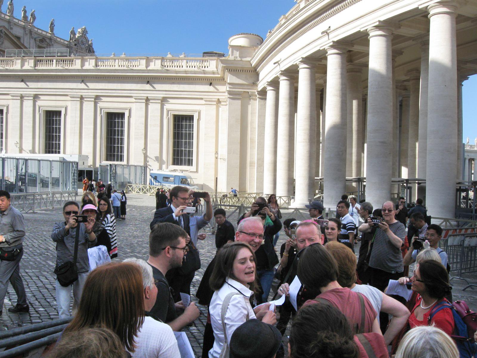 Celia Wexler, Vatican