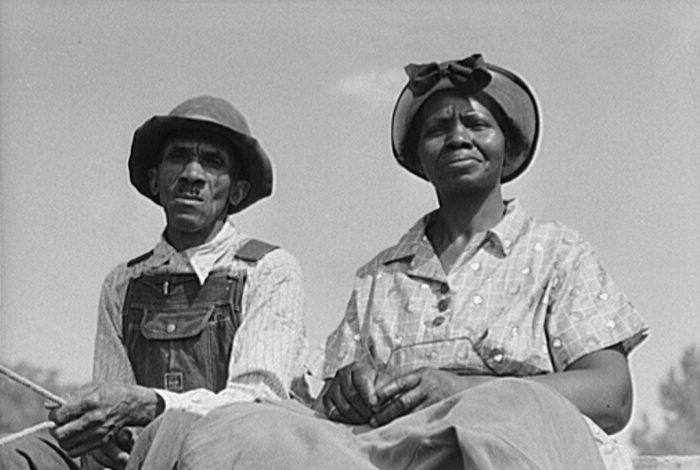 Greene County, Georgia, African American, couple, 1941