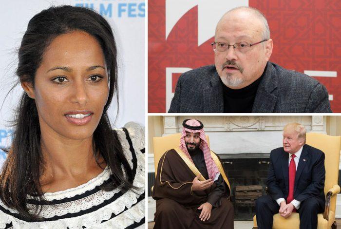 Rula Jebreal, Jamal Khashoggi, Mohammed bin Salman, Donald Trump