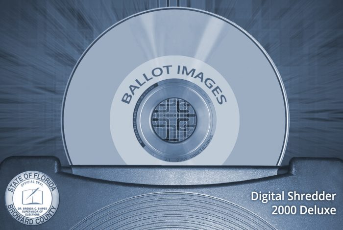 ballot images, Broward County, Florida