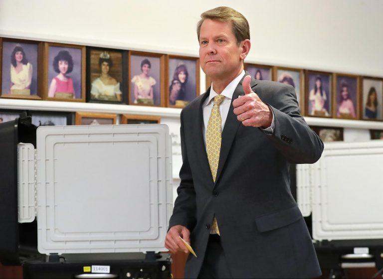 Georgia, Secretary of State, Brian Kemp