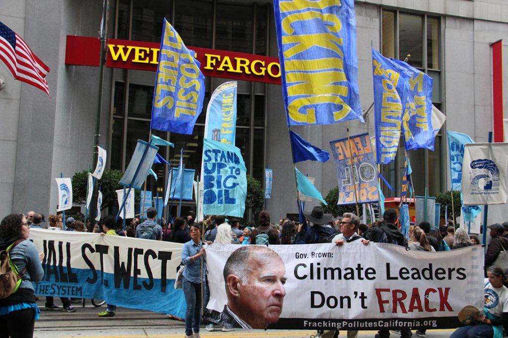 fracking, protest, San Francisco