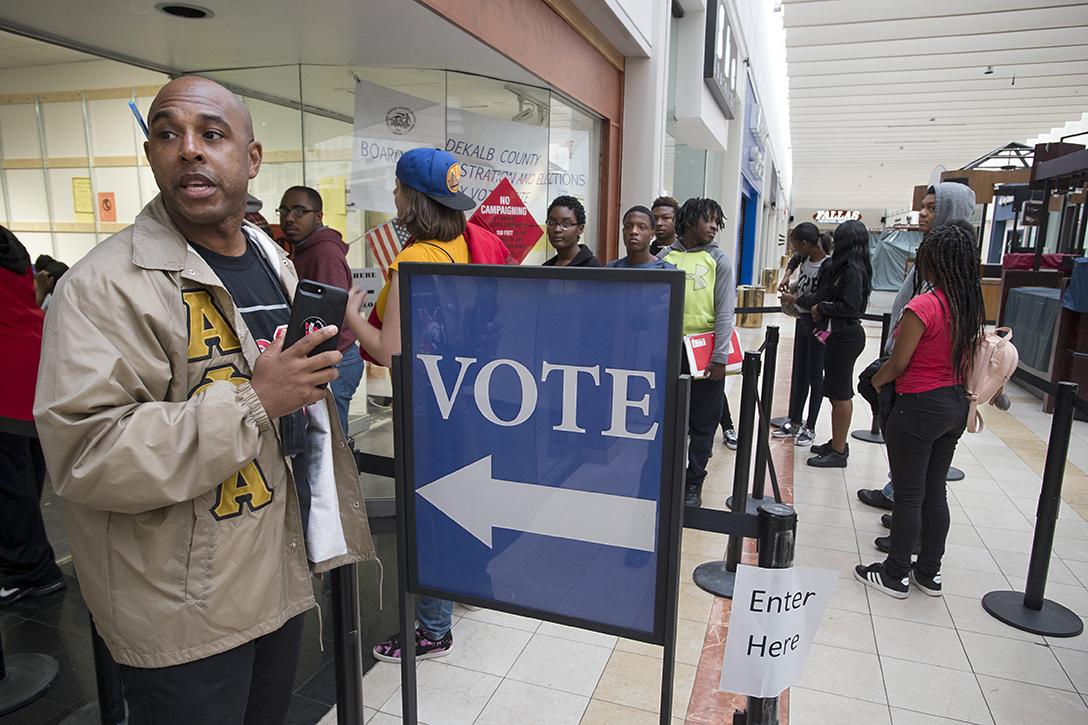 DeKalb County, Georgia, early voting