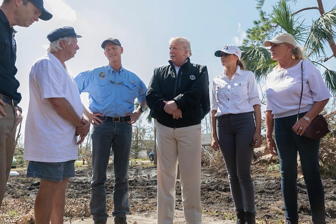 Donald J. Trump, Melania Trump, Rick Scott, Ann Scott