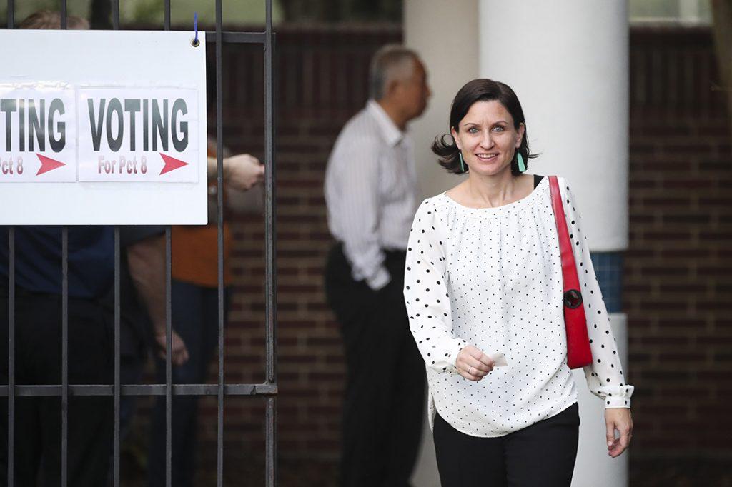 voter, Houston, Texas