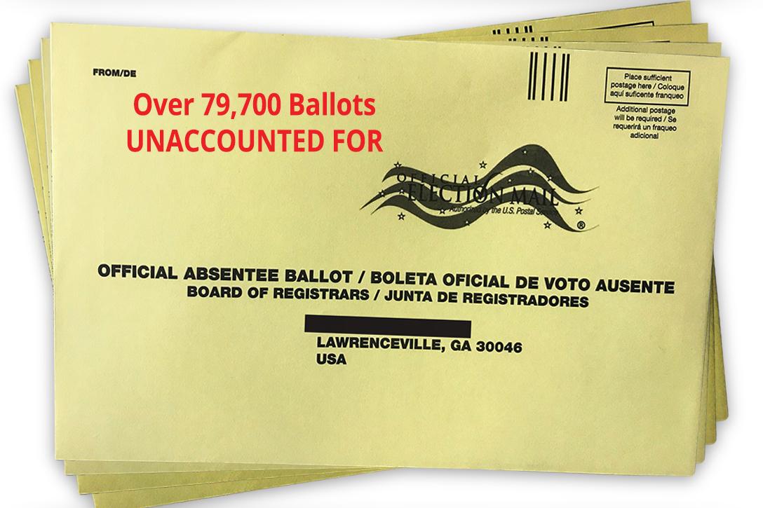 Georgia, absentee ballots