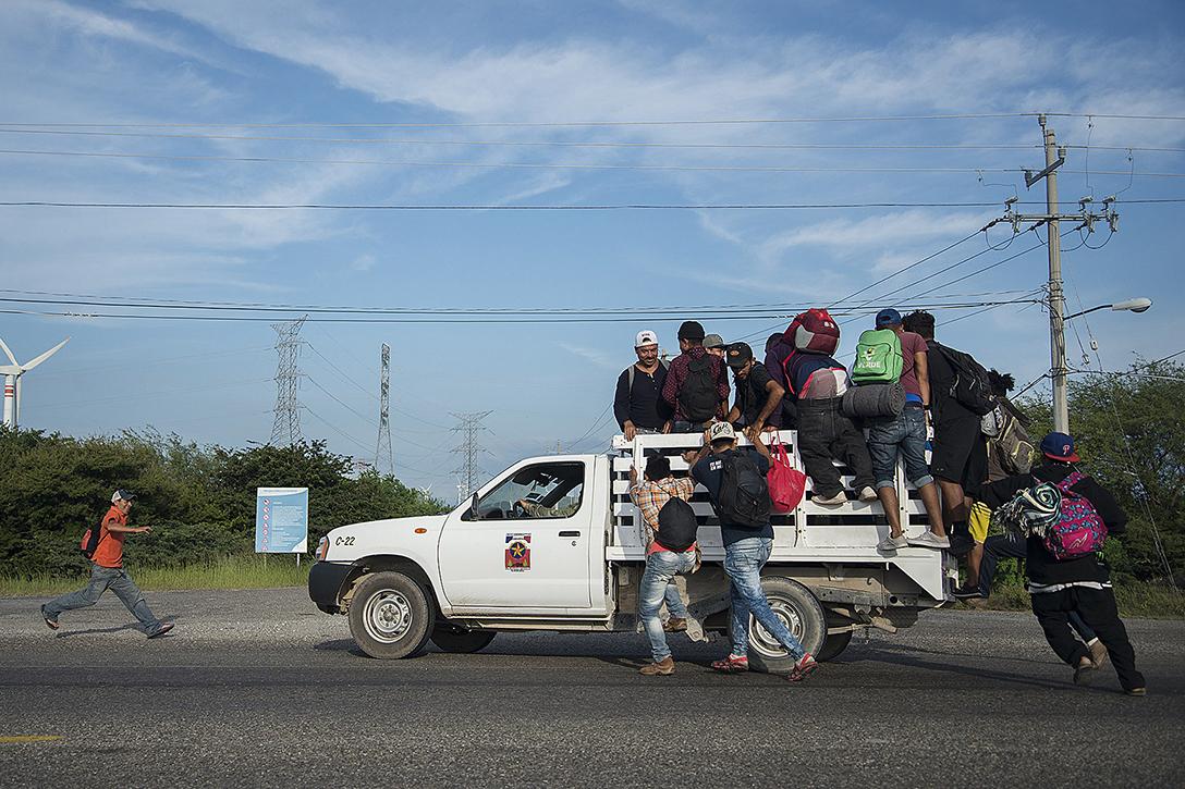migrants, Central America