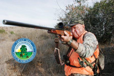 hunting, North Dakota