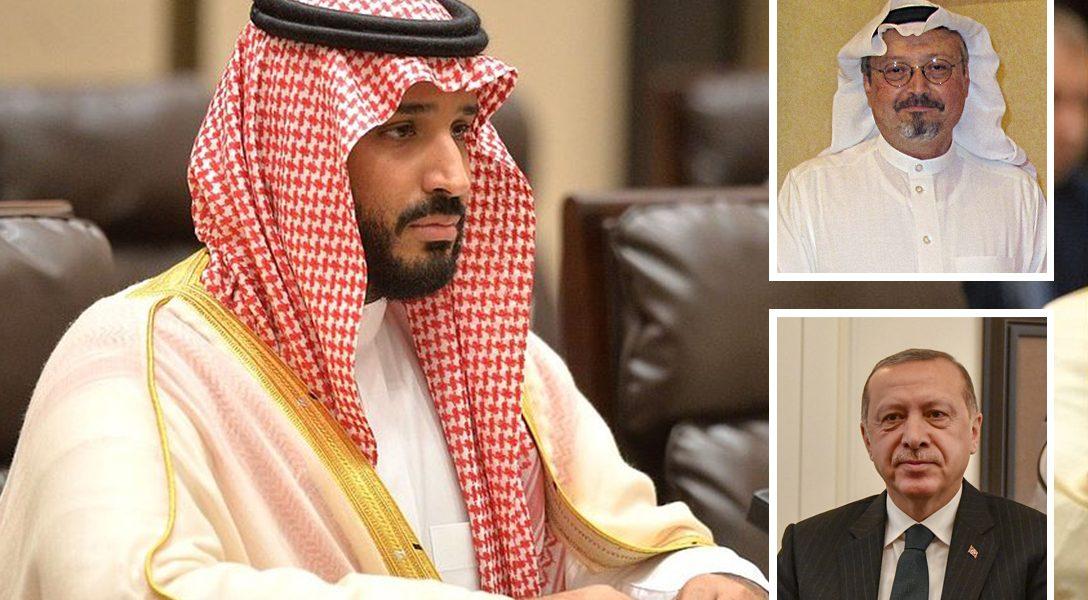 Mohammed bin Salman, Jamal Khashoggi, Recep Tayyip Erdoğan