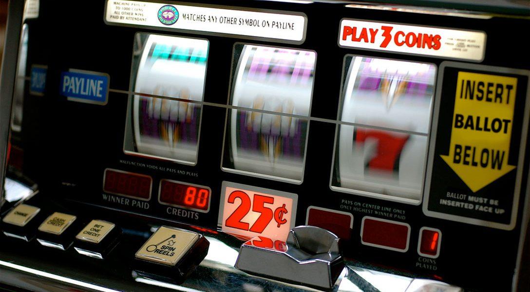 Slot machine, voting machine