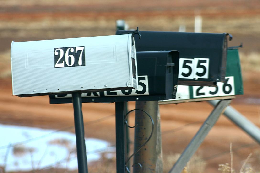 mailboxes, Navajo