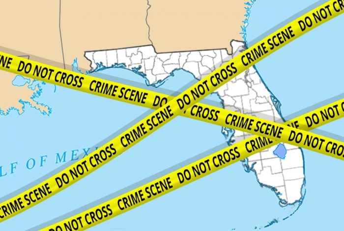 Alt Text: Florida, election, crime scene