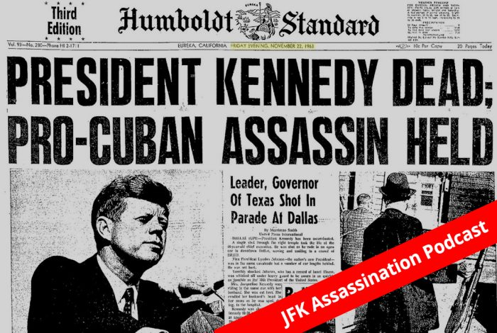 Humboldt Standard, JFK Assassination