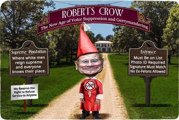 John Roberts, Jim Crow, Roberts Crow