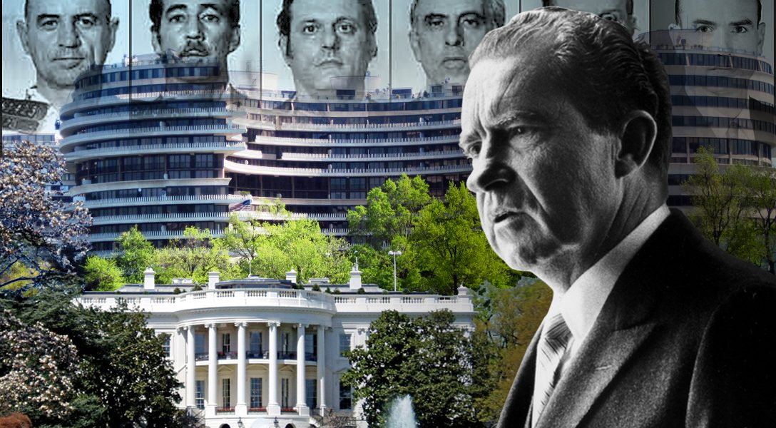 Nixon, Watergate, Whitehouse, Watergate burglars