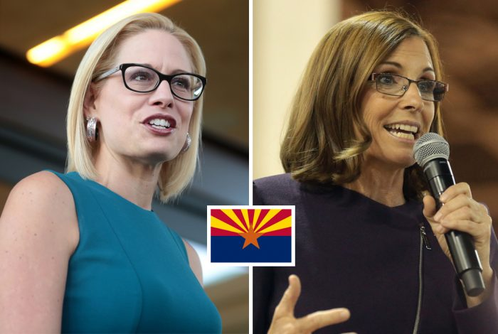 Kyrsten Sinema, Martha McSally