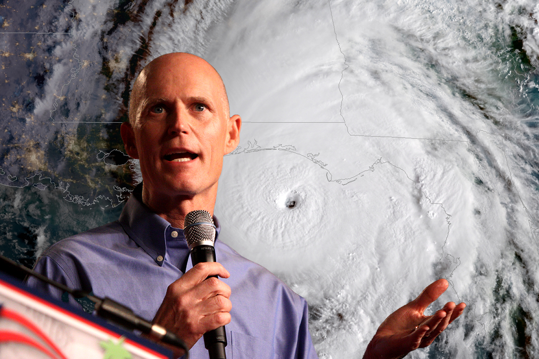 Florida, Governor, Rick Scott, Hurricane Michael