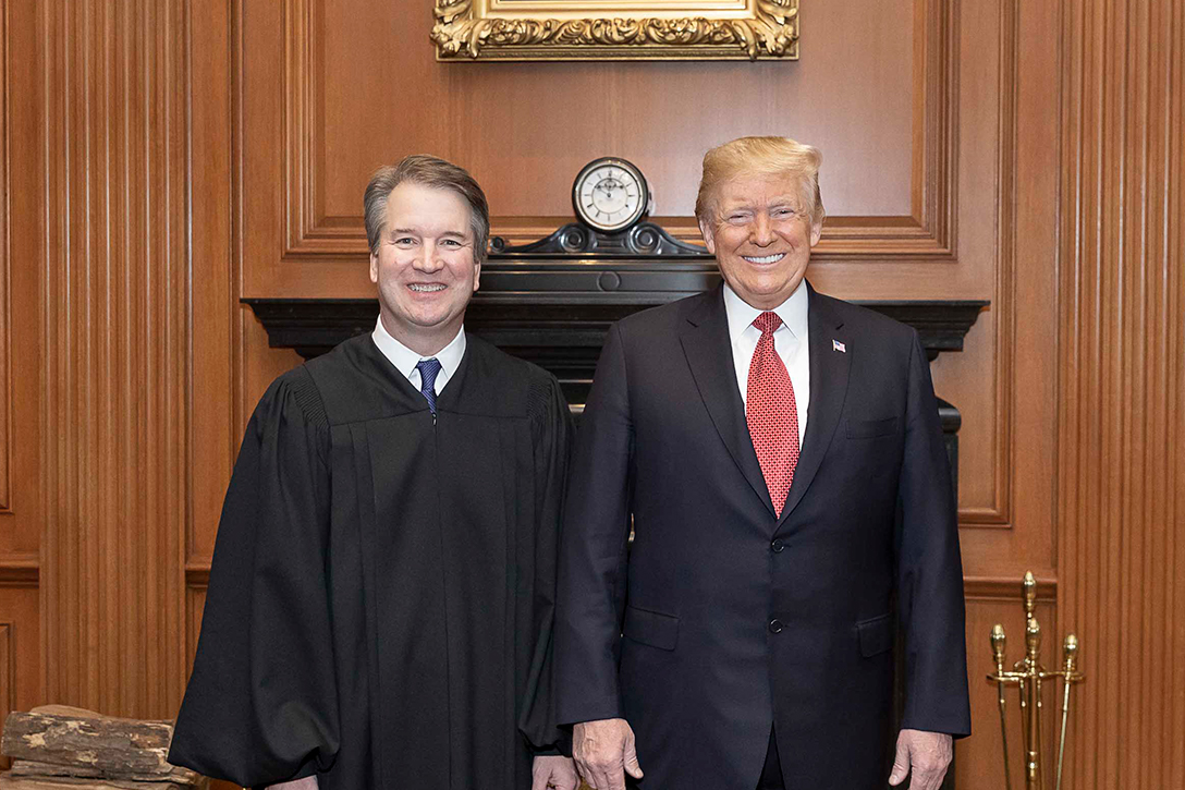 Brett Kavanaugh, Donald Trump