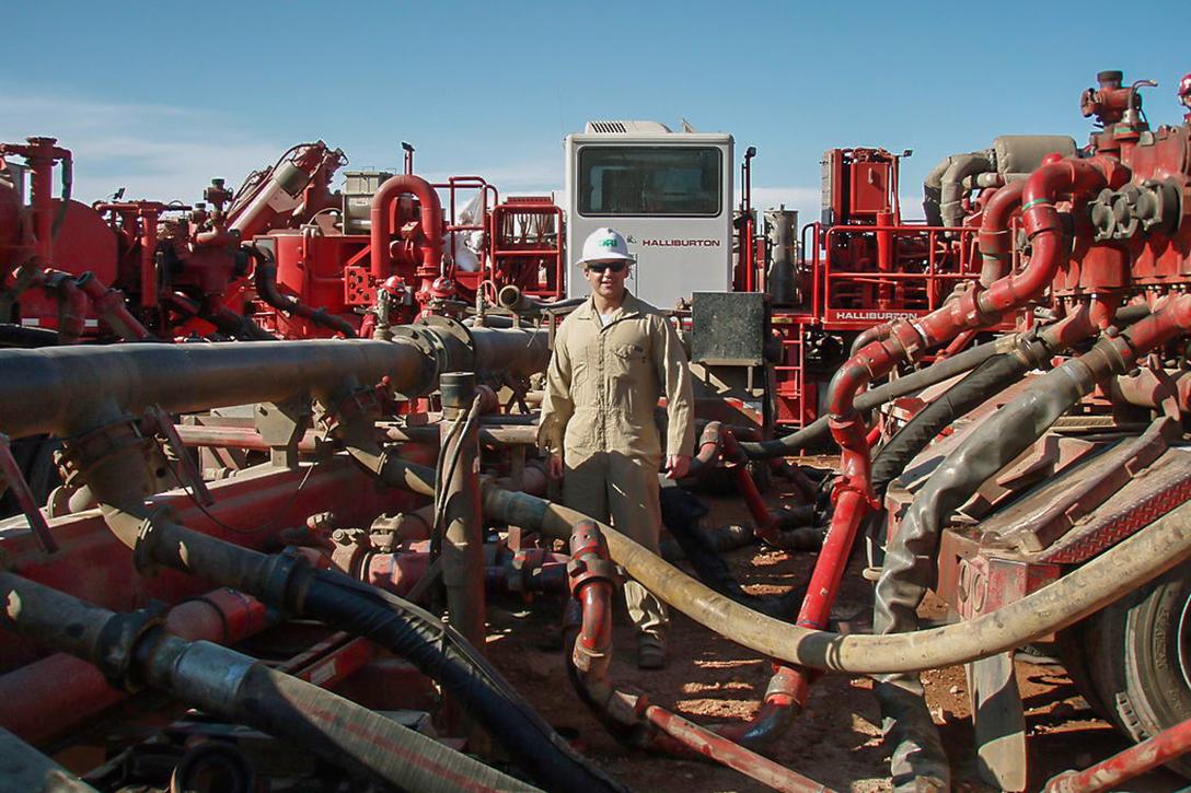 Water Pump Fracking