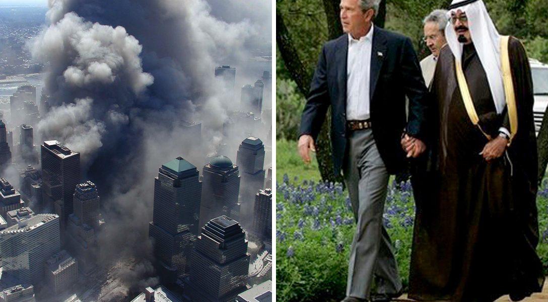 World Trade Center, 9/11. George W. Bush, Crown Prince Abdullah