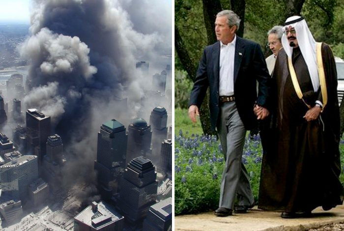 World Trade Center, 9/11. George W. Bush, Crown Prince Abdullah