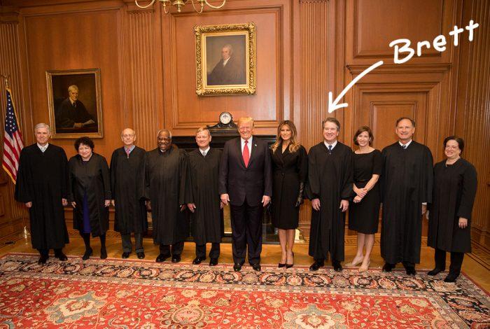 US Supreme Court, Donald Trump, Melania Trump