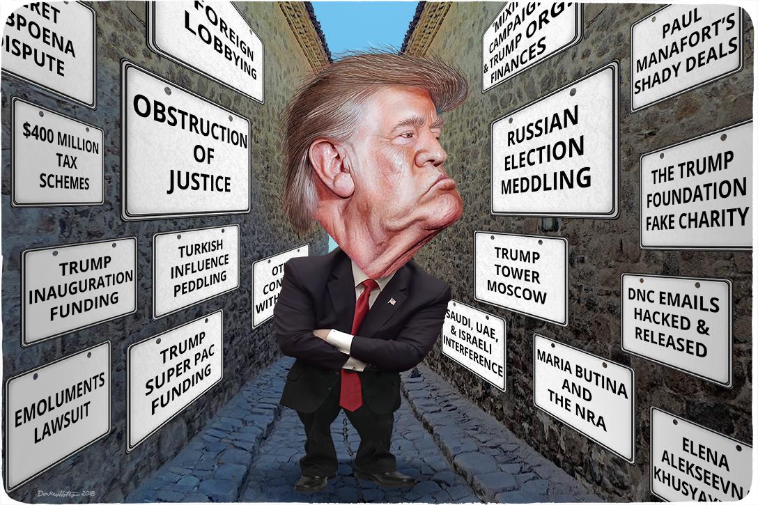 Donald Trump, investigations