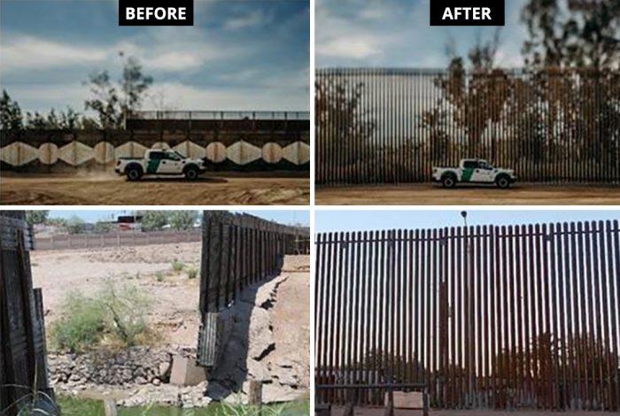 DHS. border wall