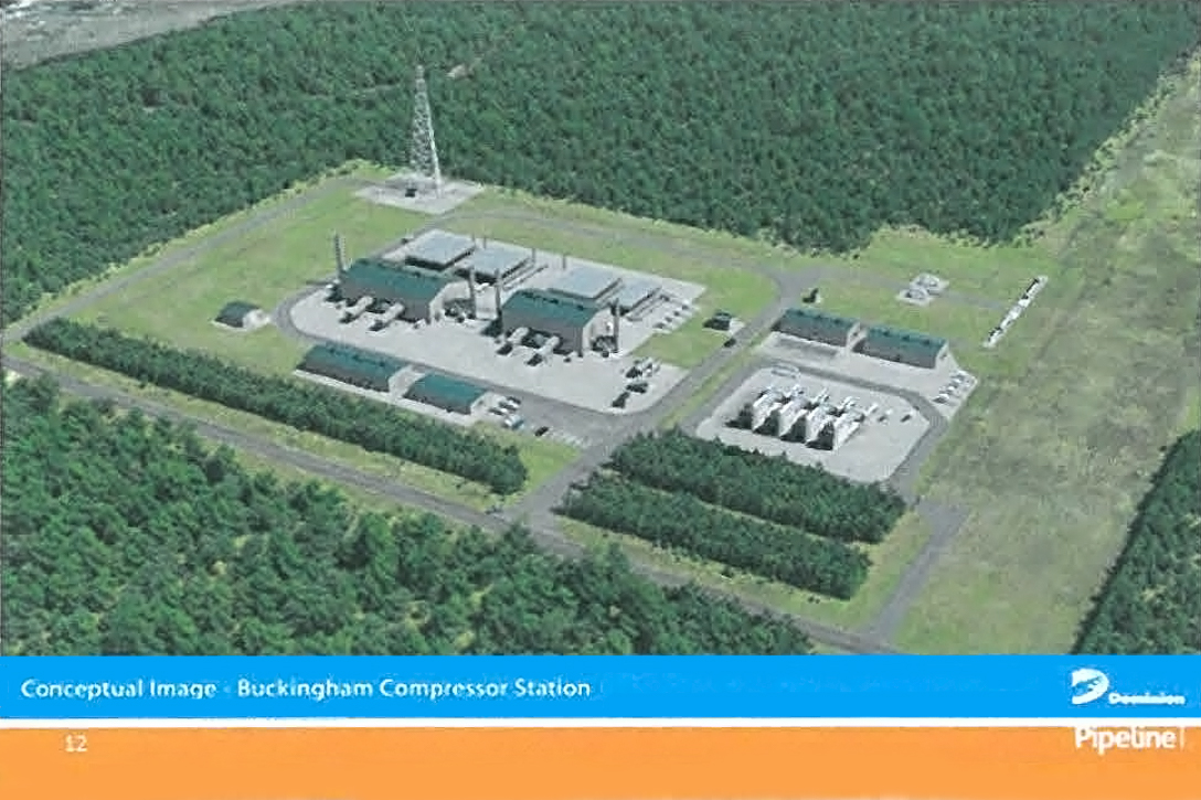 Atlantic Coast Pipeline, compressor station