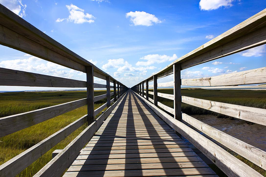 perspective, boardwalk
