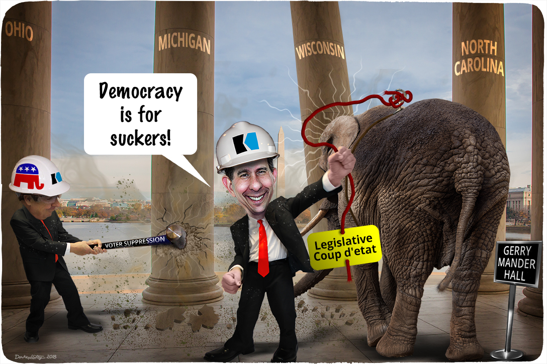 Scott Walker, legislative coup